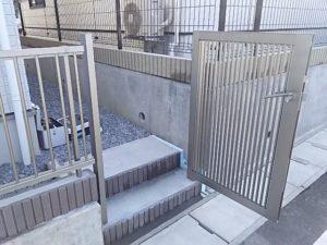 プレスタ2型門扉施工例2