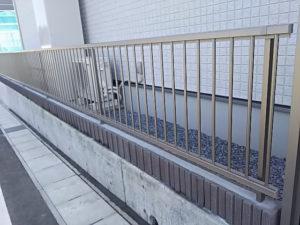 LIXILハイサモアフェンス施工例①