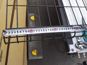 フェンスを測ってみる