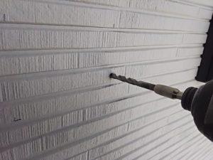 6mmで外壁に穴を開ける