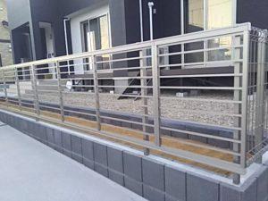 プレスタフェンス1型施工例①