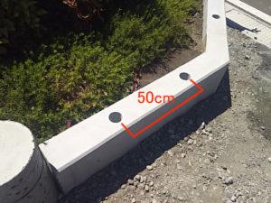 コア間隔アルミ鋳物フェンス
