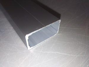 アルミ材をスライド丸ノコで切断してみた切断面1