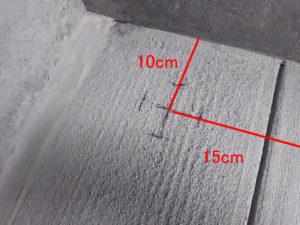 柱位置の詳細