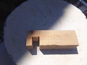 さっき作っておいた木材