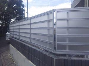 ジオーナフェンスLP型施工例②