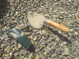 モルタルを練る道具