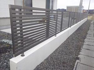 ライシスフェンス10型の施工例1