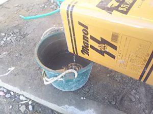 防凍剤を加える
