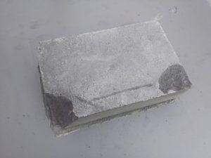 4日目防凍剤有りモルタル