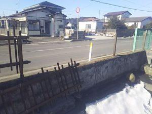 フェンスの本体を外す