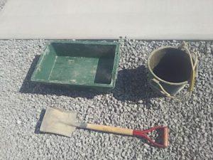 コンクリートを作る道具
